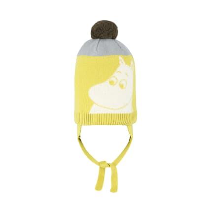 Muumi Muumi-neulepipo keltainen
