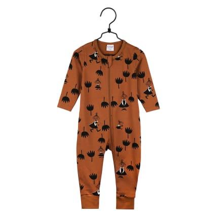 Moomin Tulips Pyjamas cinnamon