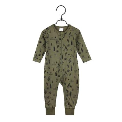 Moomin Pinewood Pyjamas olive