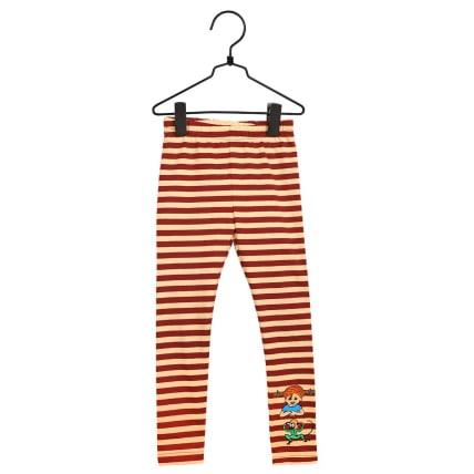 Pippi Longstocking Buddies Leggings red