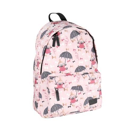 Moomin Nipsu Backpack Bows pink