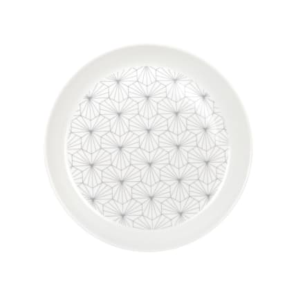 Koti Orion Sallad Plate white