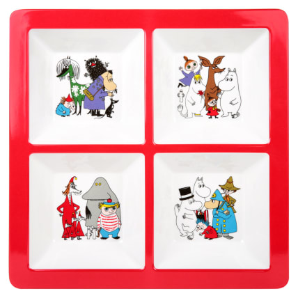 Moomin Characters Section Tray