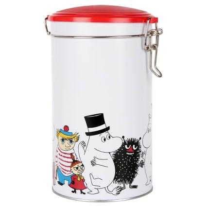 Moomin Characters Round Coffee Tin
