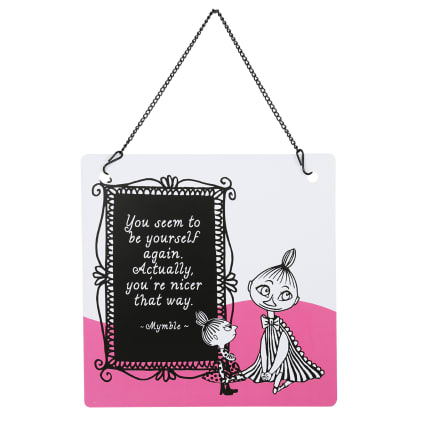 Moomin Sisters Tin Sign
