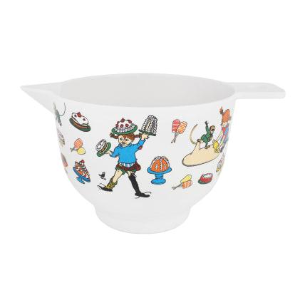 Pippi Longstocking Baking Bowl M white