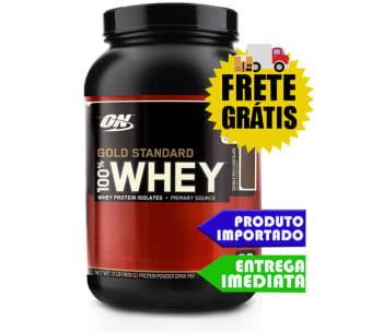 100% Whey Protein - Optimun Nutrition 900gr