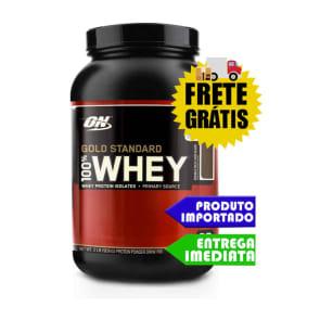 100% Whey Protein - Optimun Nutrition 900gr