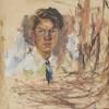 Arthur Boyd, Self portrait, 1935, oil on canvas. Bundanon Trust Collection.