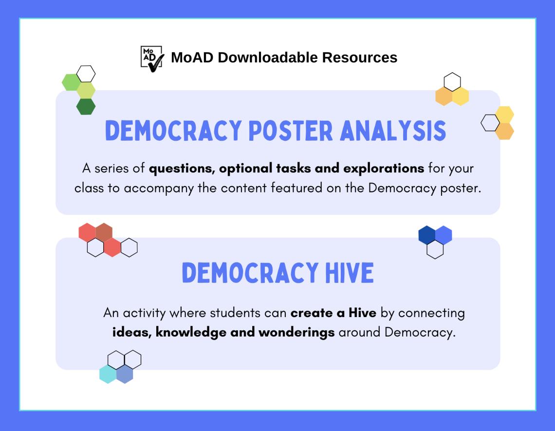 Democracy poster analysis image