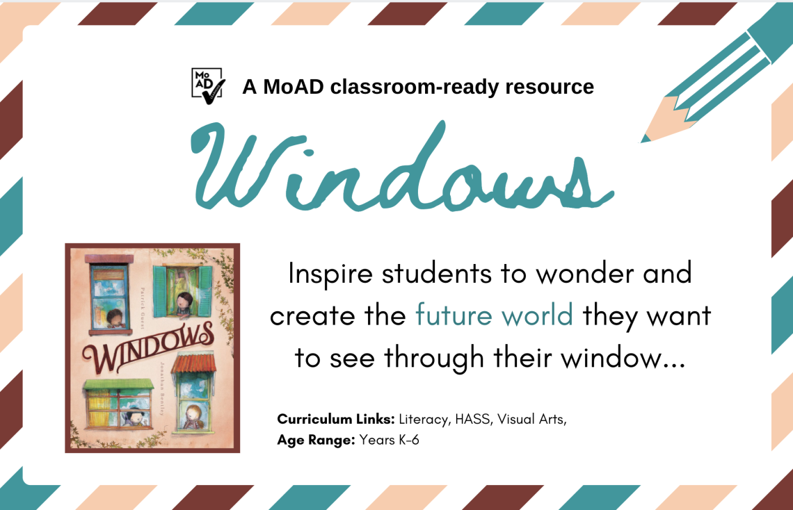 Image of picture book titled Windows