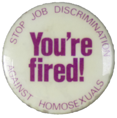 Anti-discrimination badge