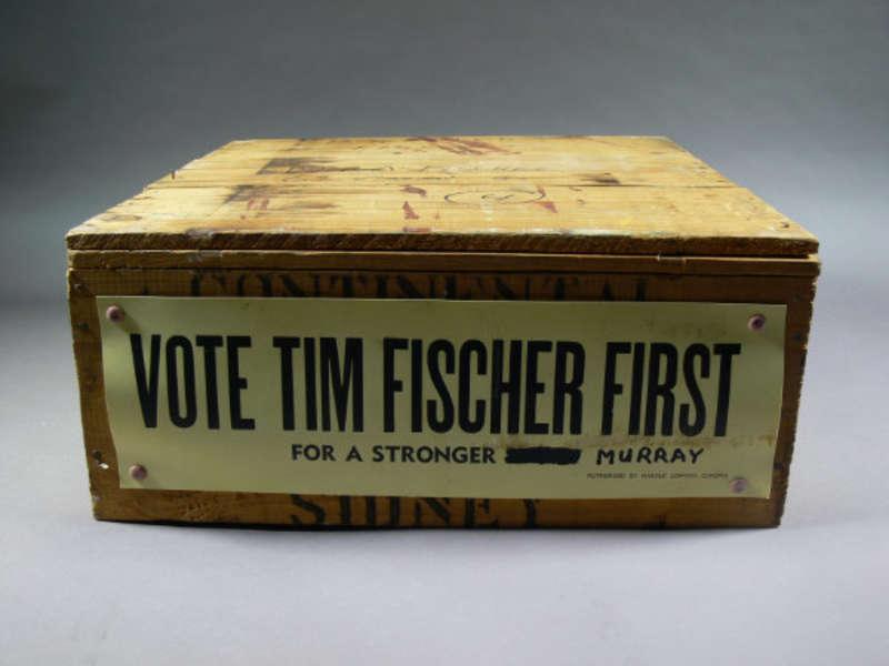 Tim Fischer's soapbox