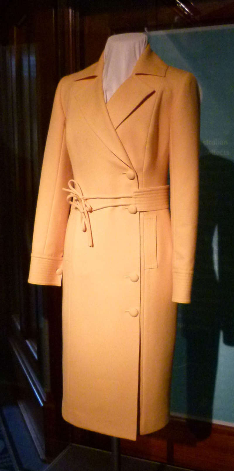 Suit donated by Governor General Quentin Bryce