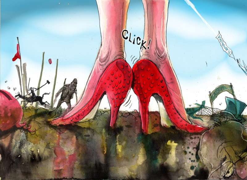 David Rowe. ''We're Not in Canberra Anymore.' Australian Financial Review, 22 February 2019.
