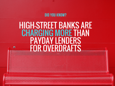 Comparing payday loan charges to overdraft fees