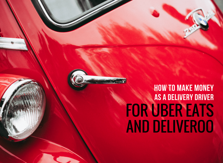 How to make money as a delivery driver