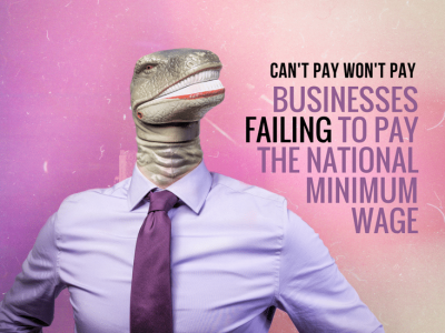 Can't Pay; Won't Pay: Argos and the National Minimum Wage Debate