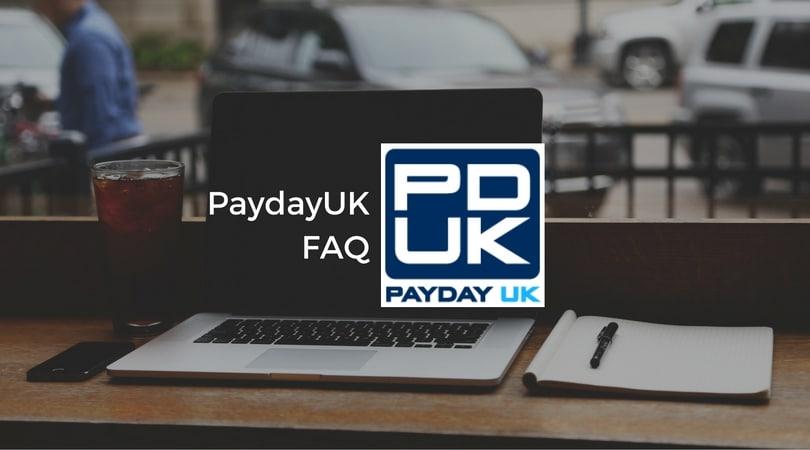 PaydayUK FAQ
