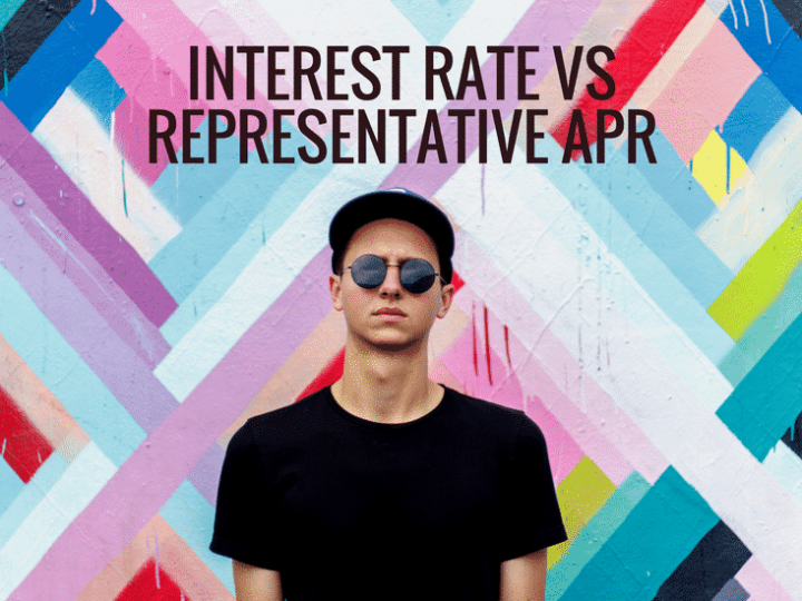 Interest Rate vs Representative APR