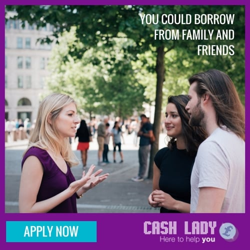 Borrowing from family and friends can be a small loan alternative