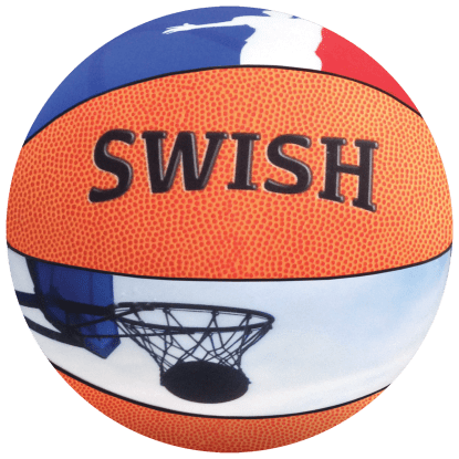 Picture of Basketball 3D Microbead Pillow