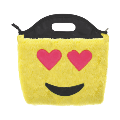 Picture of Heart Eyes Emoji Furry Lunch Tote
