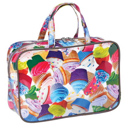 Picture of Cupcakes Large Cosmetic Bag