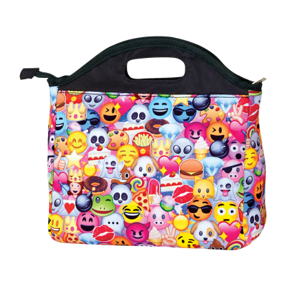 Picture of Emoji Collage Lunch Tote