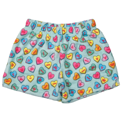 Picture of Candy Hearts Plush Shorts