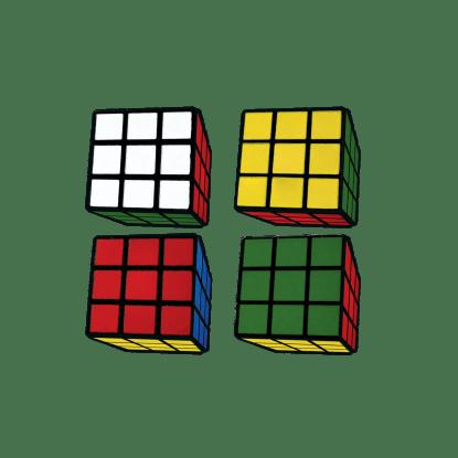 Picture of Rubik's® Cube 3D Mini Eraser Set