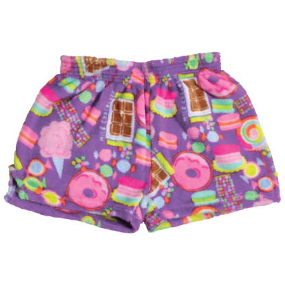Picture of Sweets Plush Shorts X-Large (16)