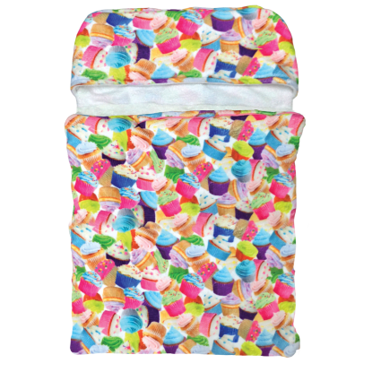 Picture of Cupcakes  Sleeping Bag