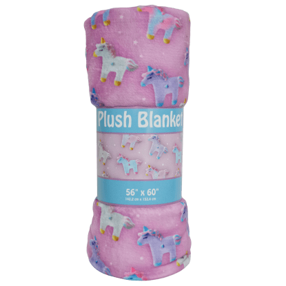 Picture of Unicorns and Stars Plush Blanket