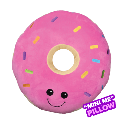 Picture of Mini Sprinkled Donut Scented Embroidered Pillow