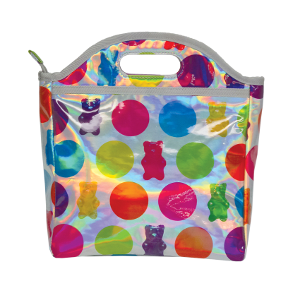 Picture of Gummy Bears Holographic Lunch Tote