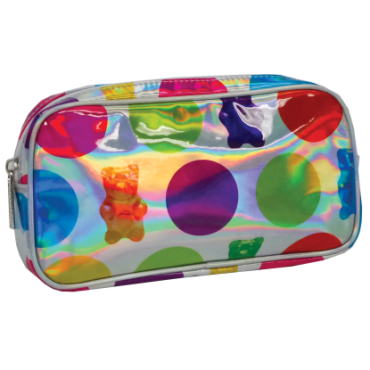 Picture of Gummy Bears Holographic Small Cosmetic Bag