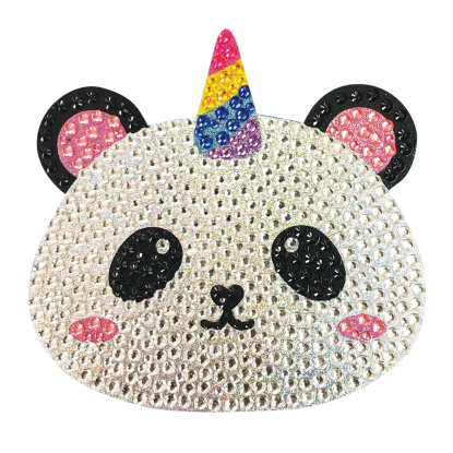 Picture of Pandacorn Rhinestone Decals