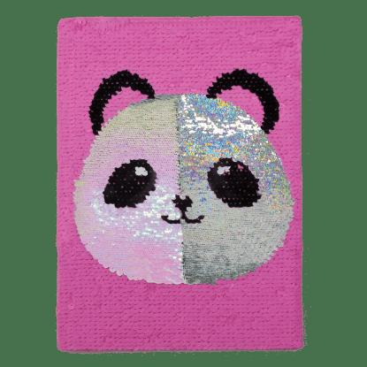 Picture of Panda Reversible Sequin Journal