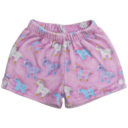Picture of Unicorns and Stars Plush Shorts