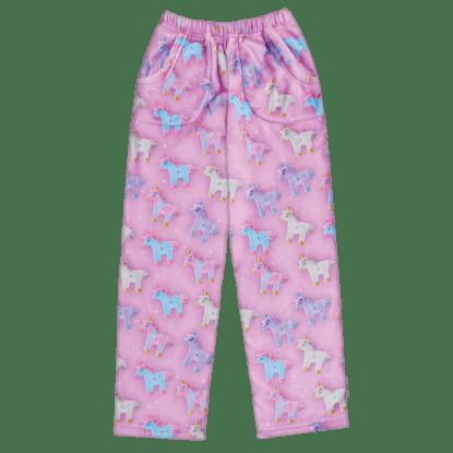 Picture of Unicorns and Stars Plush Pants