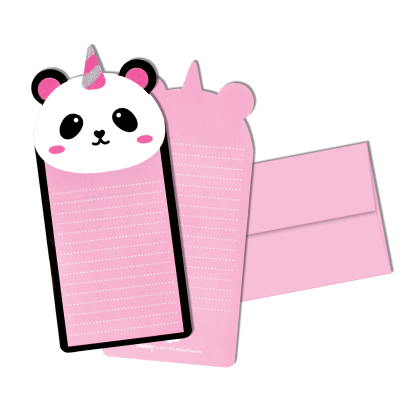 Picture of Pandacorn Glitter Notecards
