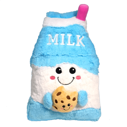 Picture of Milk and Cookie Scented Furry Pillow
