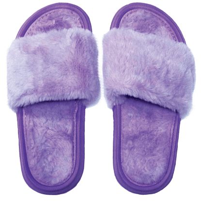 Picture of Purple Furry Slides