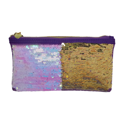 Picture of Iridescent Reversible Sequin Pencil Case