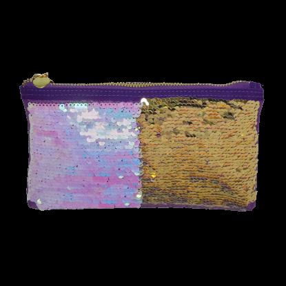 Picture of Iridescent Reversible Sequin Pencil Case