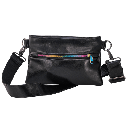 Picture of Black Metallic Belt Bag