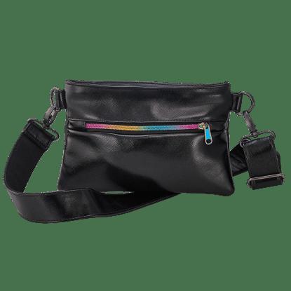 Picture of Black Metallic Belt Bag