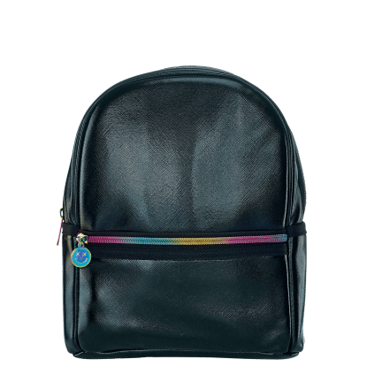 Picture of Black Metallic Mini Backpack