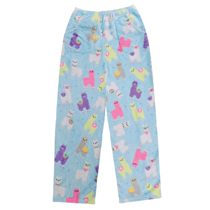 Picture of Llamas Plush Pants
